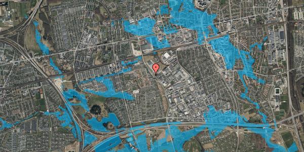 Oversvømmelsesrisiko fra vandløb på Firkløverparken 9, 1. tv, 2625 Vallensbæk