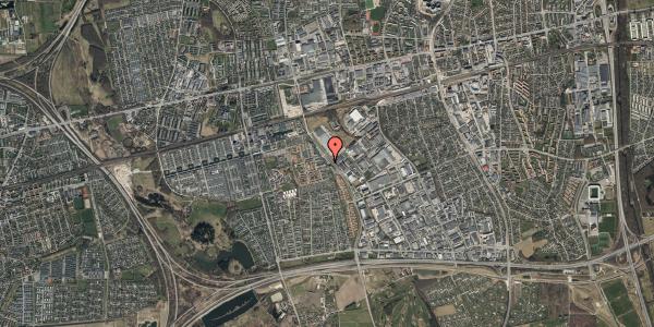 Oversvømmelsesrisiko fra vandløb på Firkløverparken 23, 3. 33, 2625 Vallensbæk