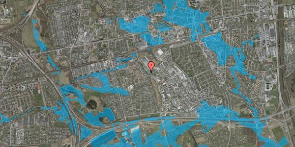 Oversvømmelsesrisiko fra vandløb på Firkløverparken 23, 2. 27, 2625 Vallensbæk