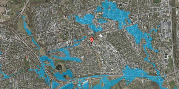 Oversvømmelsesrisiko fra vandløb på Firkløverparken 32, st. th, 2625 Vallensbæk