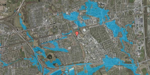 Oversvømmelsesrisiko fra vandløb på Firkløverparken 32, 2. th, 2625 Vallensbæk
