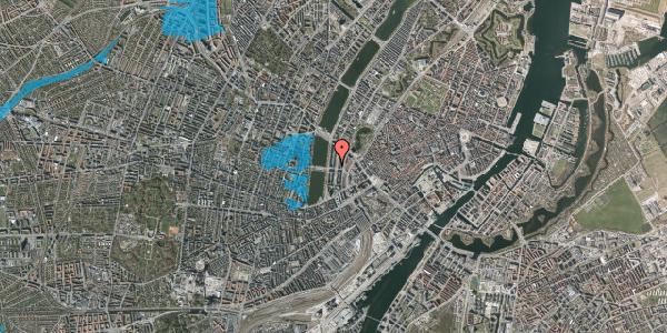 Oversvømmelsesrisiko fra vandløb på Nyropsgade 28, 4. , 1602 København V