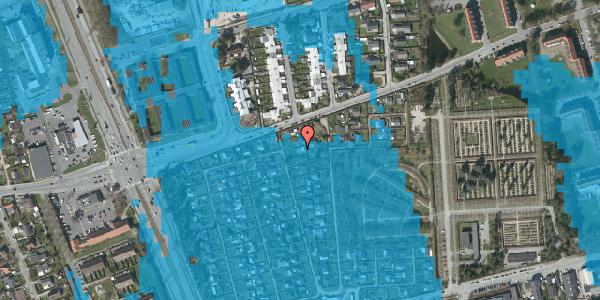 Oversvømmelsesrisiko fra vandløb på Hf. Svarø 90, 2650 Hvidovre