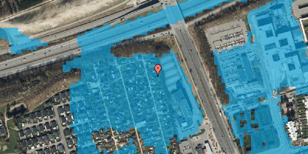 Oversvømmelsesrisiko fra vandløb på Hf. Kettehøj 112, 2650 Hvidovre