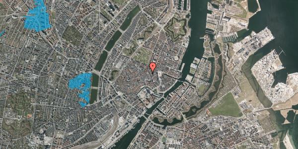 Oversvømmelsesrisiko fra vandløb på Antonigade 11, 1. , 1106 København K