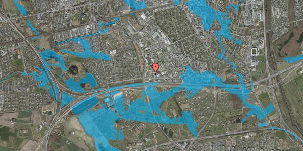 Oversvømmelsesrisiko fra vandløb på Jydekrogen 2A, 2625 Vallensbæk