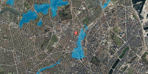 Oversvømmelsesrisiko fra vandløb på Blytækkervej 6, 3. , 2400 København NV