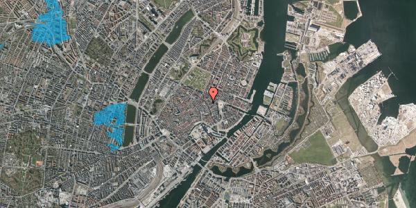 Oversvømmelsesrisiko fra vandløb på Grønnegade 4, 3. , 1107 København K