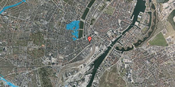 Oversvømmelsesrisiko fra vandløb på Istedgade 12, 2. , 1650 København V