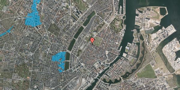 Oversvømmelsesrisiko fra vandløb på Rosenborggade 15, 1. , 1130 København K