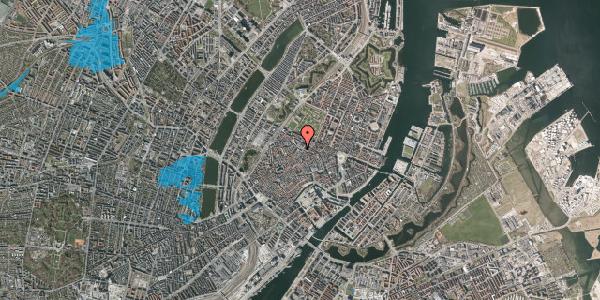 Oversvømmelsesrisiko fra vandløb på Pilestræde 65, 1112 København K