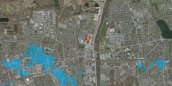 Oversvømmelsesrisiko fra vandløb på Hvissingevej 98, 2600 Glostrup