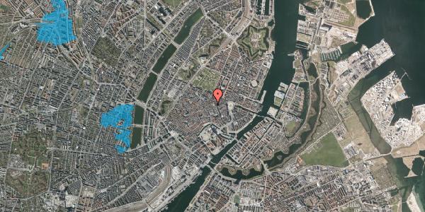 Oversvømmelsesrisiko fra vandløb på Pilestræde 32A, 1. , 1112 København K