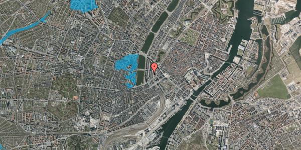 Oversvømmelsesrisiko fra vandløb på Vester Farimagsgade 17, 3. , 1606 København V