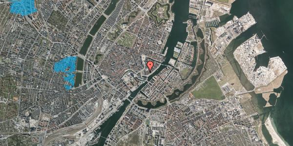Oversvømmelsesrisiko fra vandløb på Niels Juels Gade 9, 1059 København K