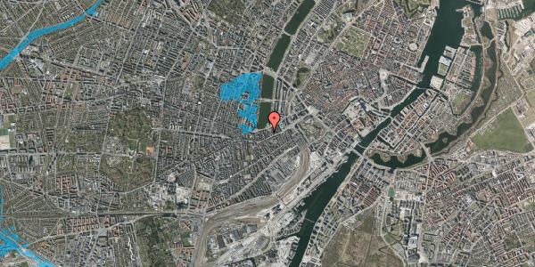 Oversvømmelsesrisiko fra vandløb på Gammel Kongevej 15C, 4. tv, 1610 København V