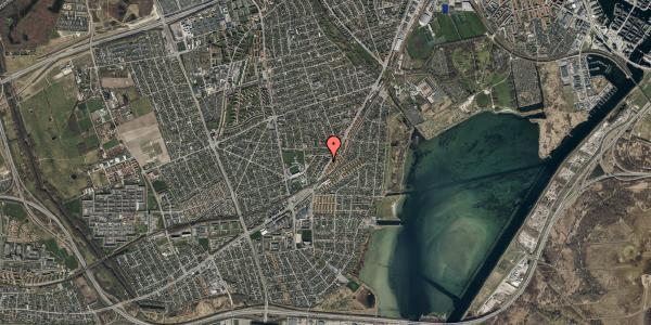 Oversvømmelsesrisiko fra vandløb på Gammel Køge Landevej 306F, 2650 Hvidovre