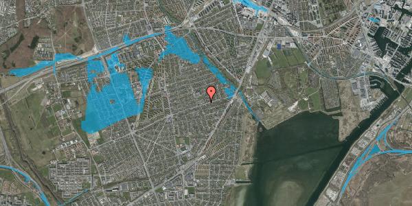 Oversvømmelsesrisiko fra vandløb på Daglykkevej 1, 2650 Hvidovre