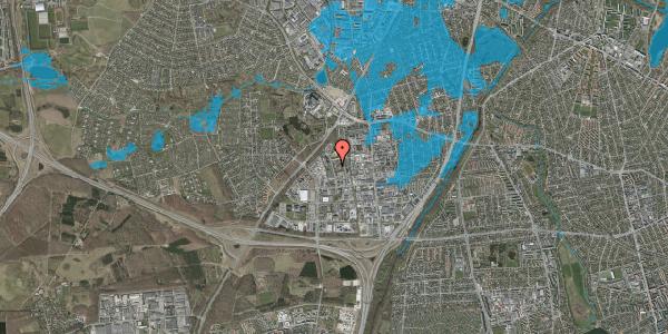 Oversvømmelsesrisiko fra vandløb på Ejbyholm 55, 2600 Glostrup