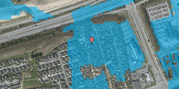 Oversvømmelsesrisiko fra vandløb på Hf. Kettehøj 19, 2650 Hvidovre