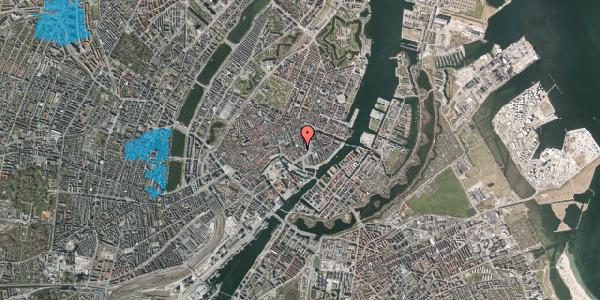 Oversvømmelsesrisiko fra vandløb på Dybensgade 1, 1071 København K