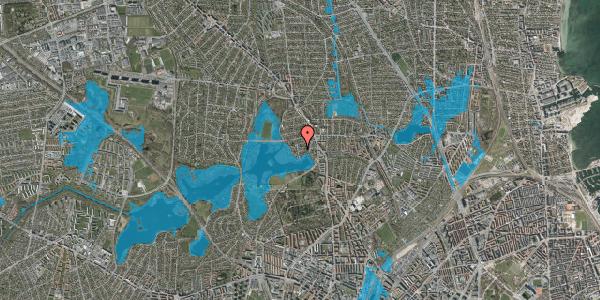 Oversvømmelsesrisiko fra vandløb på Engblommevej 47A, 2400 København NV