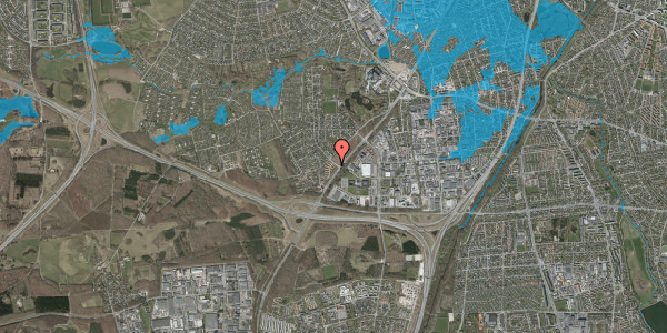 Oversvømmelsesrisiko fra vandløb på Ejbysvinget 3, 2600 Glostrup