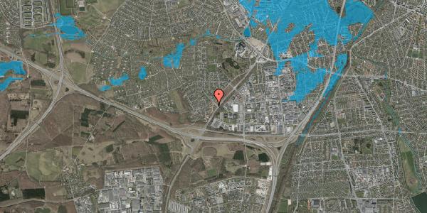 Oversvømmelsesrisiko fra vandløb på Ejbysvinget 7, 2600 Glostrup