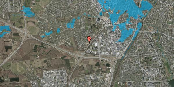 Oversvømmelsesrisiko fra vandløb på Ejbysvinget 12, 2600 Glostrup