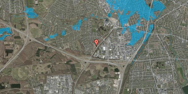 Oversvømmelsesrisiko fra vandløb på Ejbysvinget 14, 2600 Glostrup