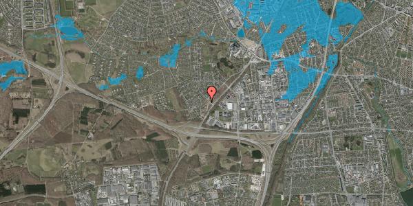 Oversvømmelsesrisiko fra vandløb på Ejbysvinget 18, 2600 Glostrup