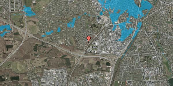 Oversvømmelsesrisiko fra vandløb på Ejbysvinget 28, 2600 Glostrup