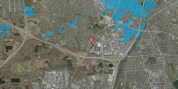 Oversvømmelsesrisiko fra vandløb på Ejbysvinget 36, 2600 Glostrup