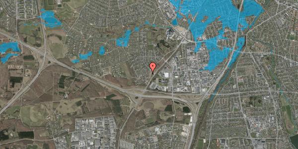 Oversvømmelsesrisiko fra vandløb på Ejbysvinget 40, 2600 Glostrup