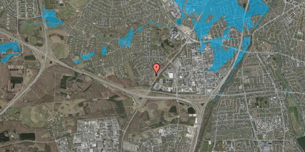 Oversvømmelsesrisiko fra vandløb på Ejbysvinget 52, 2600 Glostrup