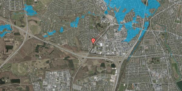Oversvømmelsesrisiko fra vandløb på Ejbysvinget 54, 2600 Glostrup