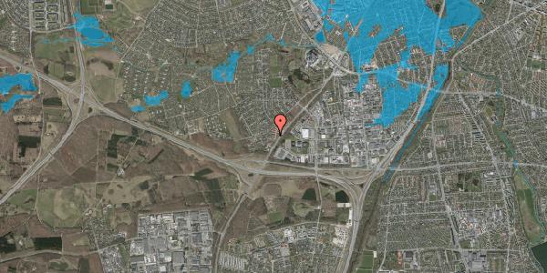 Oversvømmelsesrisiko fra vandløb på Ejbysvinget 58, 2600 Glostrup