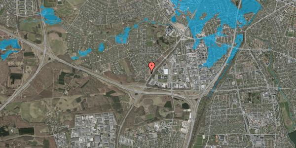 Oversvømmelsesrisiko fra vandløb på Ejbysvinget 70, 2600 Glostrup