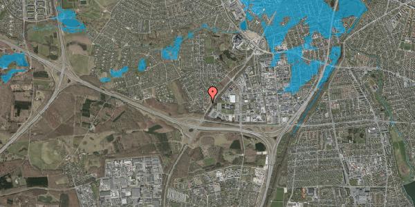 Oversvømmelsesrisiko fra vandløb på Ejbysvinget 74, 2600 Glostrup
