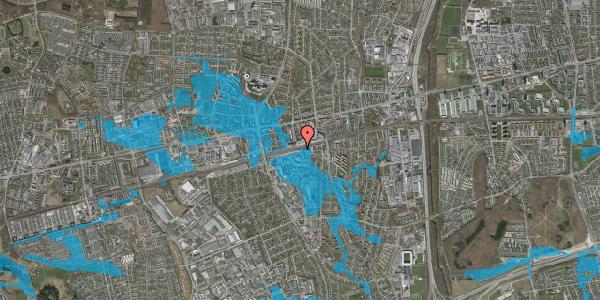 Oversvømmelsesrisiko fra vandløb på Stationsparken 28, 2600 Glostrup