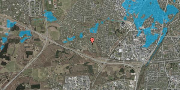 Oversvømmelsesrisiko fra vandløb på Kamillevænget 2, 2600 Glostrup