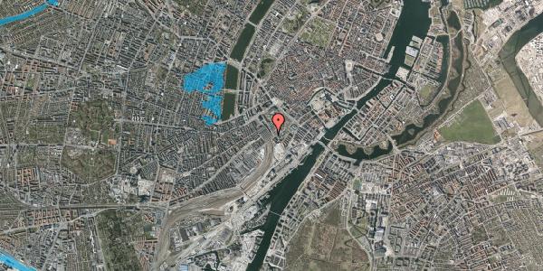 Oversvømmelsesrisiko fra vandløb på Bernstorffsgade 24, 1577 København V
