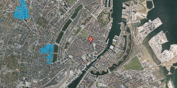 Oversvømmelsesrisiko fra vandløb på Gammel Mønt 2, st. , 1117 København K