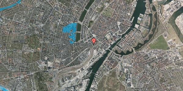 Oversvømmelsesrisiko fra vandløb på Bernstorffsgade 18, 1. , 1577 København V