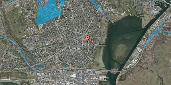 Oversvømmelsesrisiko fra vandløb på Strandhavevej 11A, 2650 Hvidovre