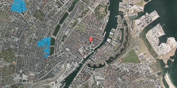 Oversvømmelsesrisiko fra vandløb på Bremerholm 31, 1069 København K