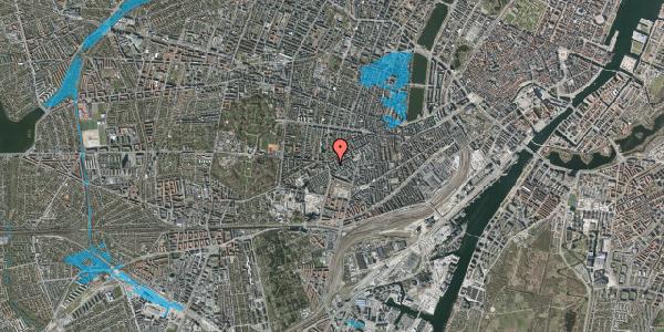Oversvømmelsesrisiko fra vandløb på Vesterbrogade 137B, 1620 København V