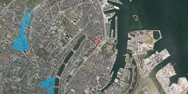 Oversvømmelsesrisiko fra vandløb på Stockholmsgade 62, 2100 København Ø