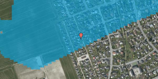 Oversvømmelsesrisiko fra vandløb på Hf. Dahlia 39, 2650 Hvidovre