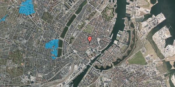 Oversvømmelsesrisiko fra vandløb på Niels Hemmingsens Gade 8, 1153 København K